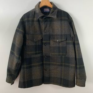 Pendleton . Button Front L/S Wool Jacket . L